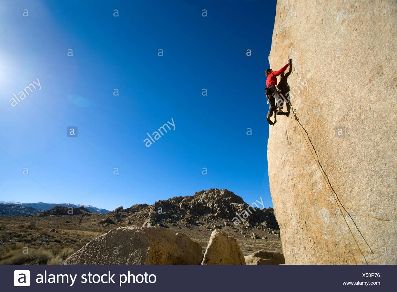 Cable macho escalada Imagen De Stock