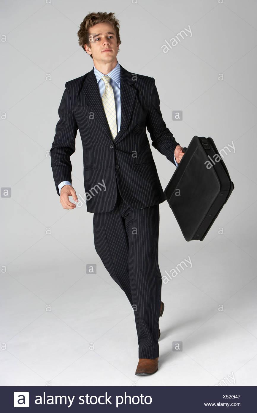 Retrato de longitud completa del empresario Imagen De Stock