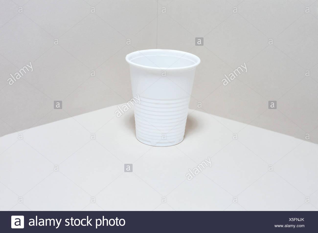 Vaso de plástico Imagen De Stock