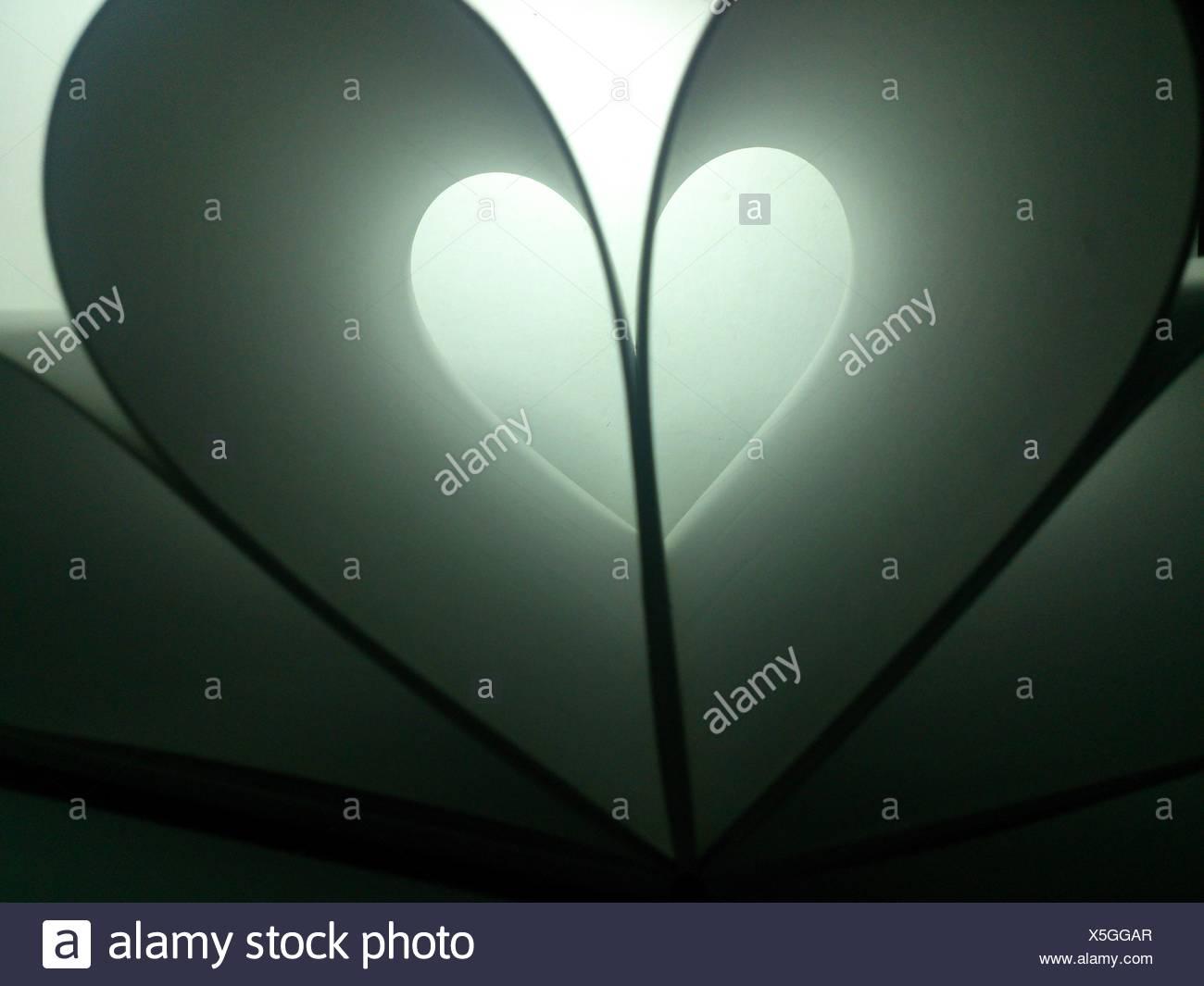 Corazón de papel Imagen De Stock
