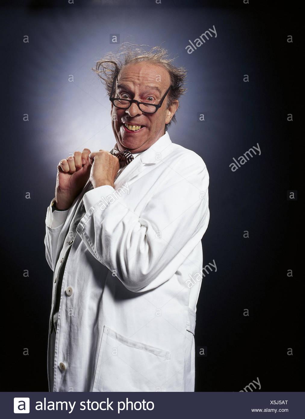 3519d42189 Boss, smock, blanco, gafas, chaleco, gesto, alegría, jefe, hombre, viejo,  studio, inside, médico, farmacia, médico, profesor, cogs, protrudingly,  opinión, ...