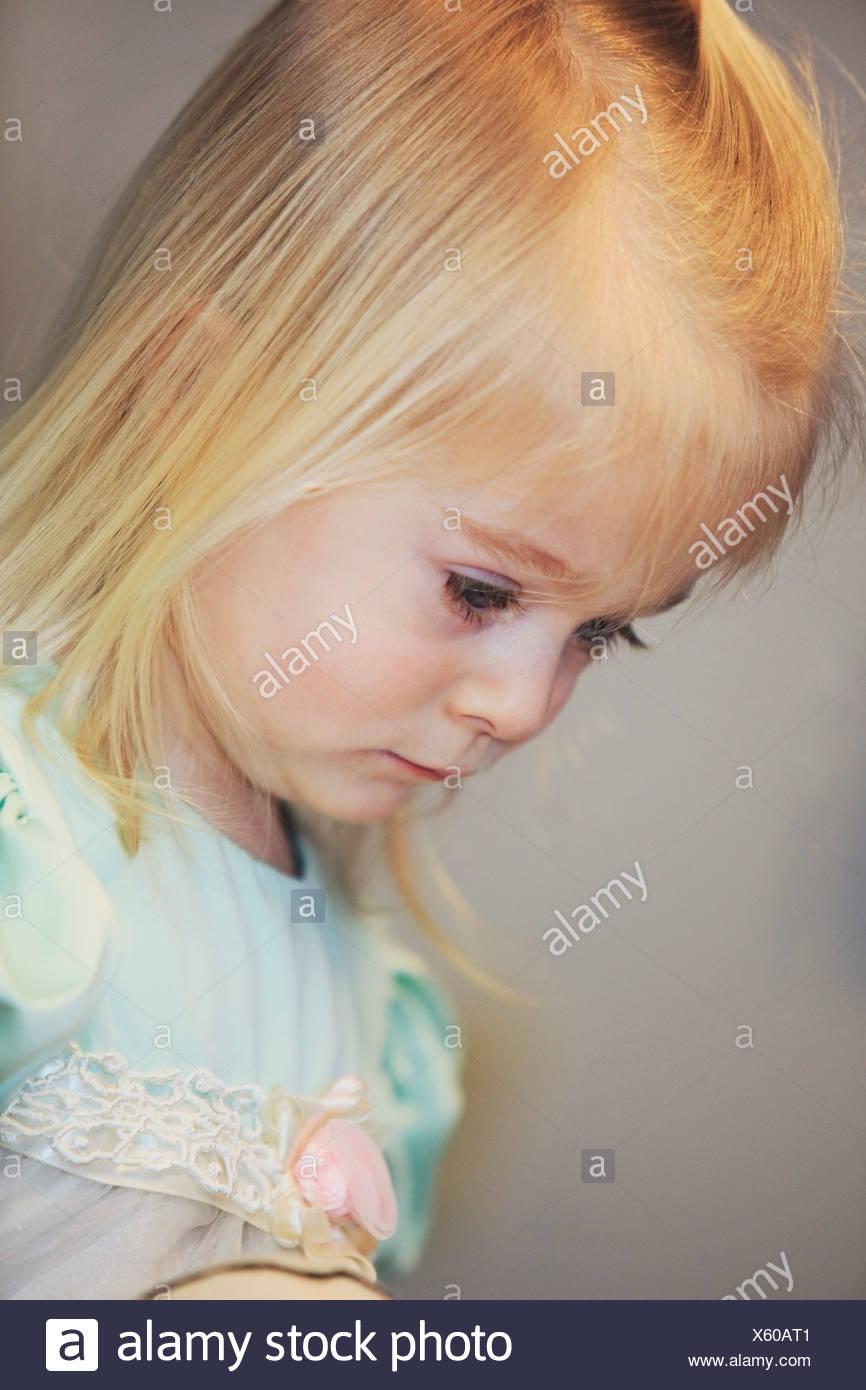 Retrato de una joven Imagen De Stock