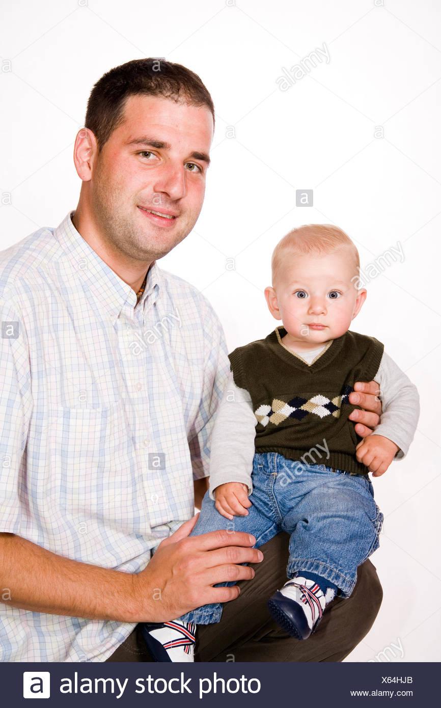 padre e hijo Imagen De Stock