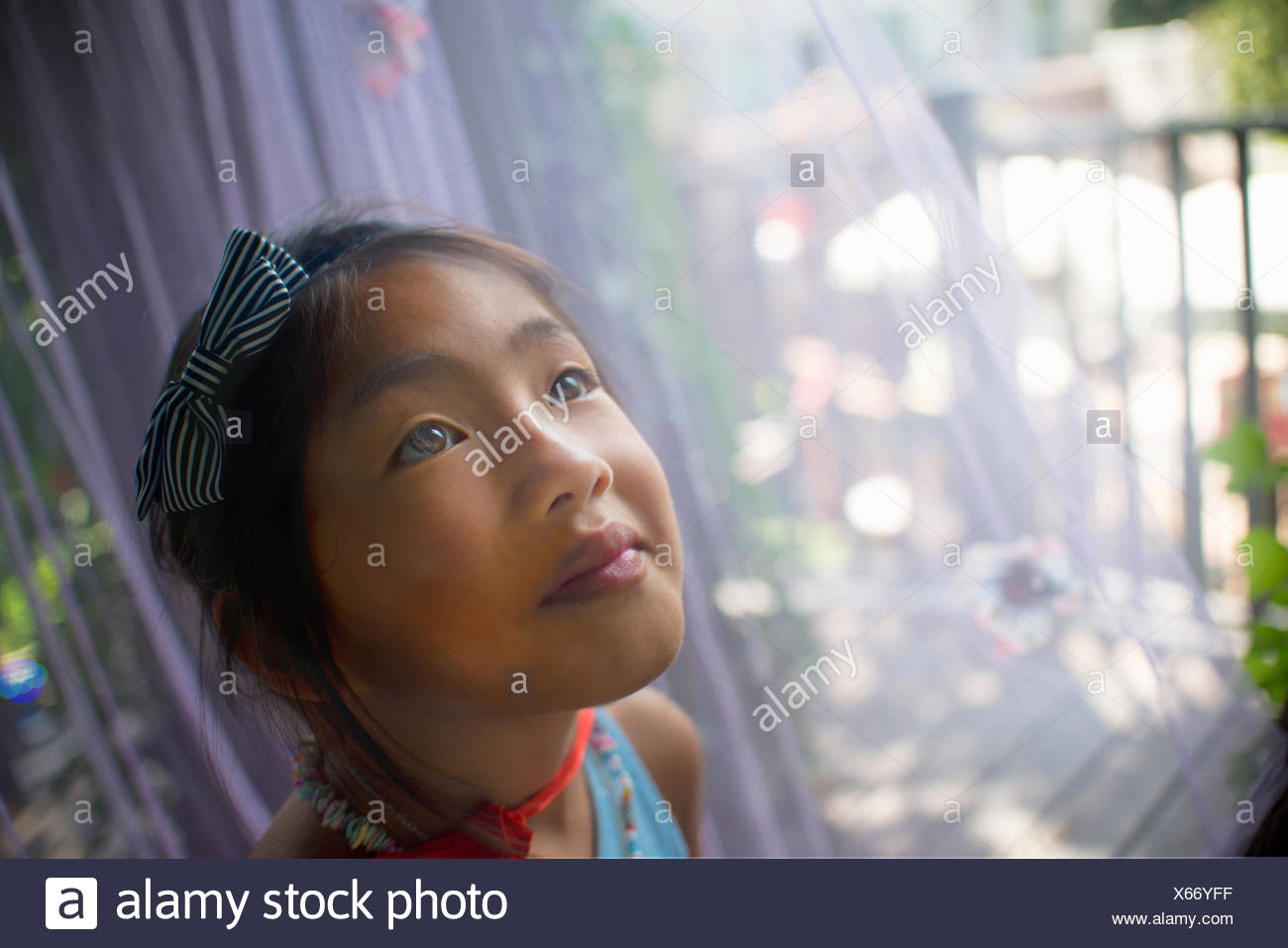 Retrato de joven asiática, la cabeza y los hombros, close-up Imagen De Stock