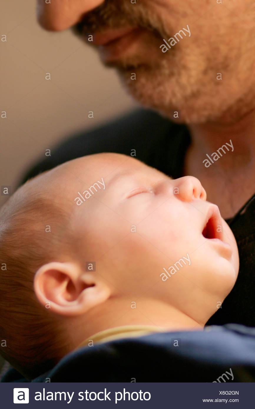 amor paternal Imagen De Stock