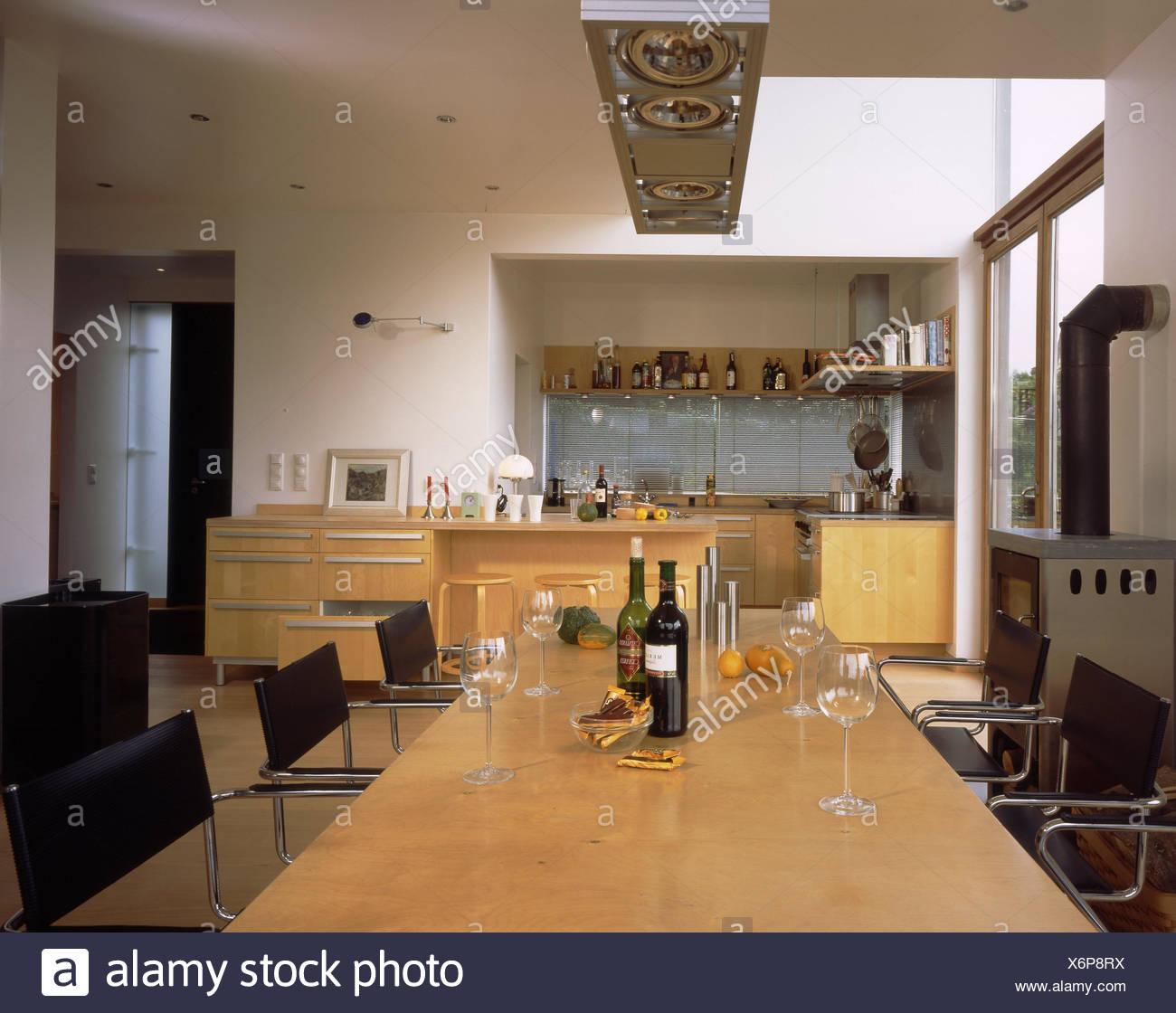 Casa Residencial, cocina-comedor, cocina, cocina, culinaria APARADOR ...