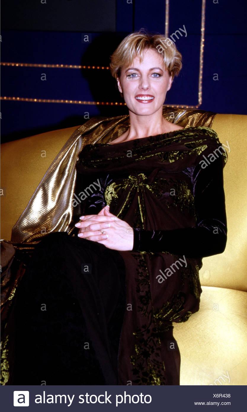 Ganador, Dana, * 10.2.1965, cantante belga, de longitud media, 1998 Imagen De Stock
