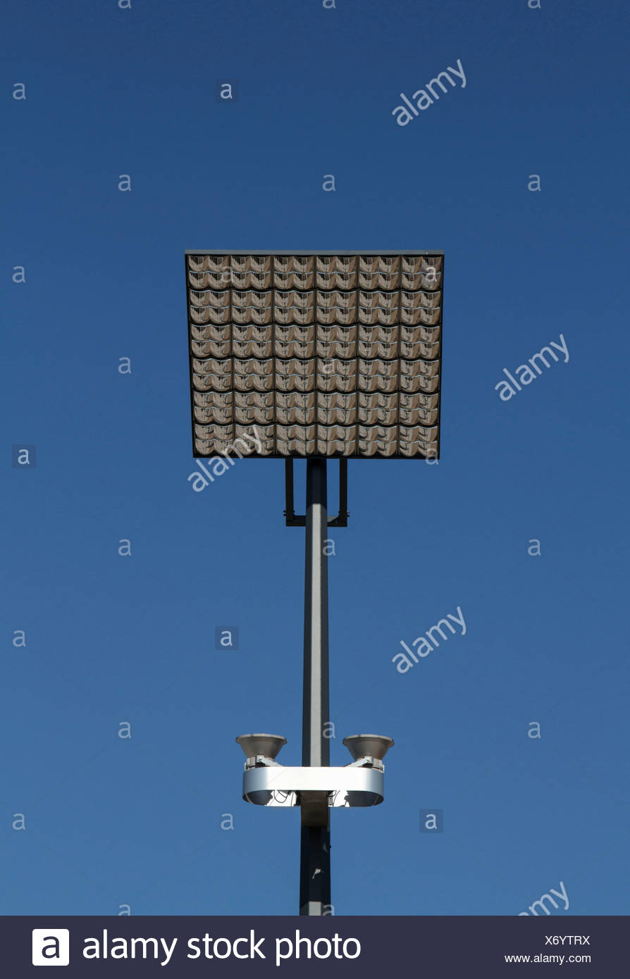 Los paneles solares, Saarbrücken, Sarre, Alemania Imagen De Stock