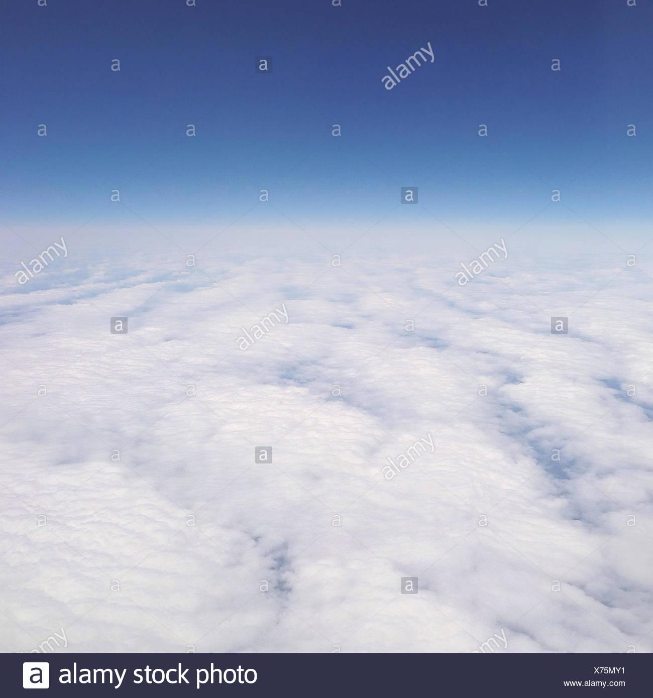 Cloudscape desde arriba Imagen De Stock