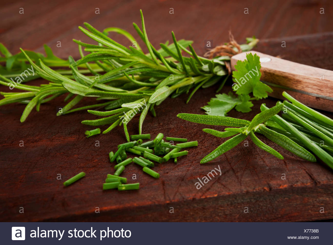 Mezclar alimentos variación Imagen De Stock