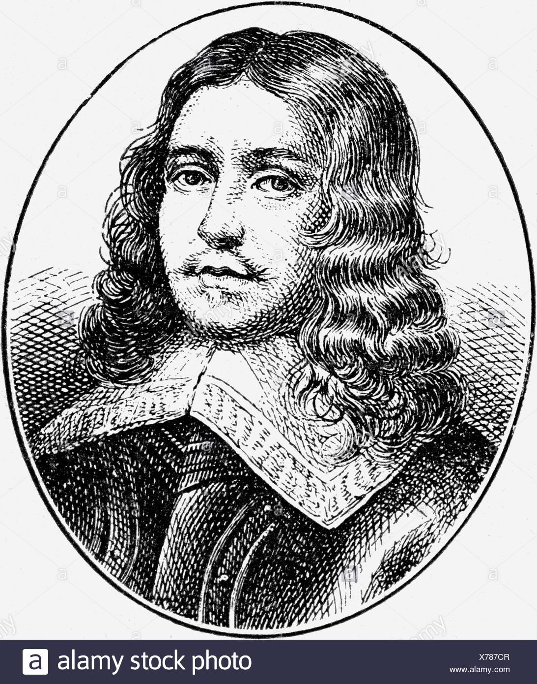 Cromwell, Richard, 4.10.1626 - 12.7.1712, político inglés, Lord Protector 3.9.1658 - 24.5.1659, retrato, grabado, siglo XIX, política, Inglaterra, Escocia, Irlanda, siglo XVII, , Foto de stock