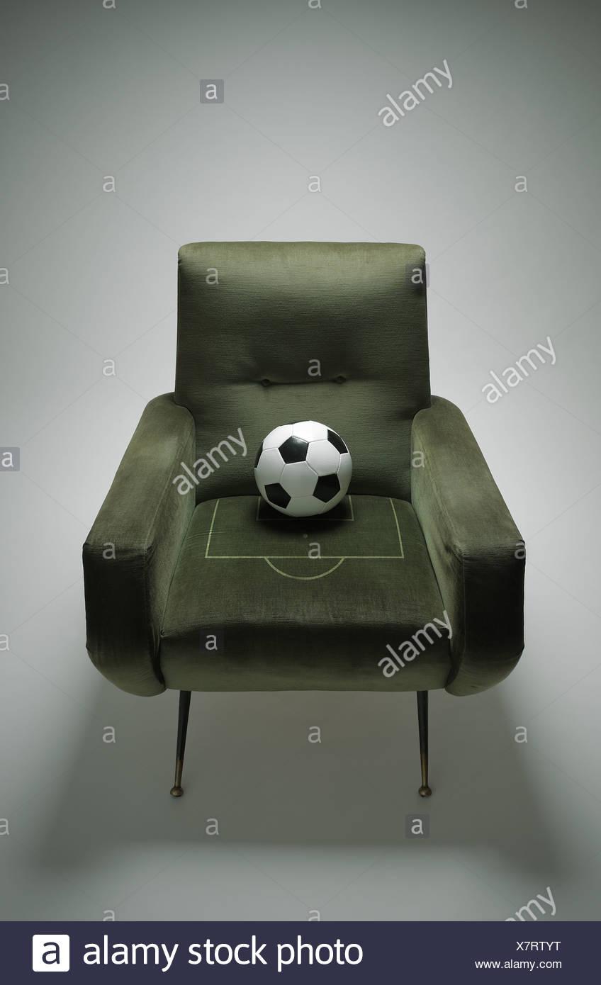 Fútbol Imagen De Stock
