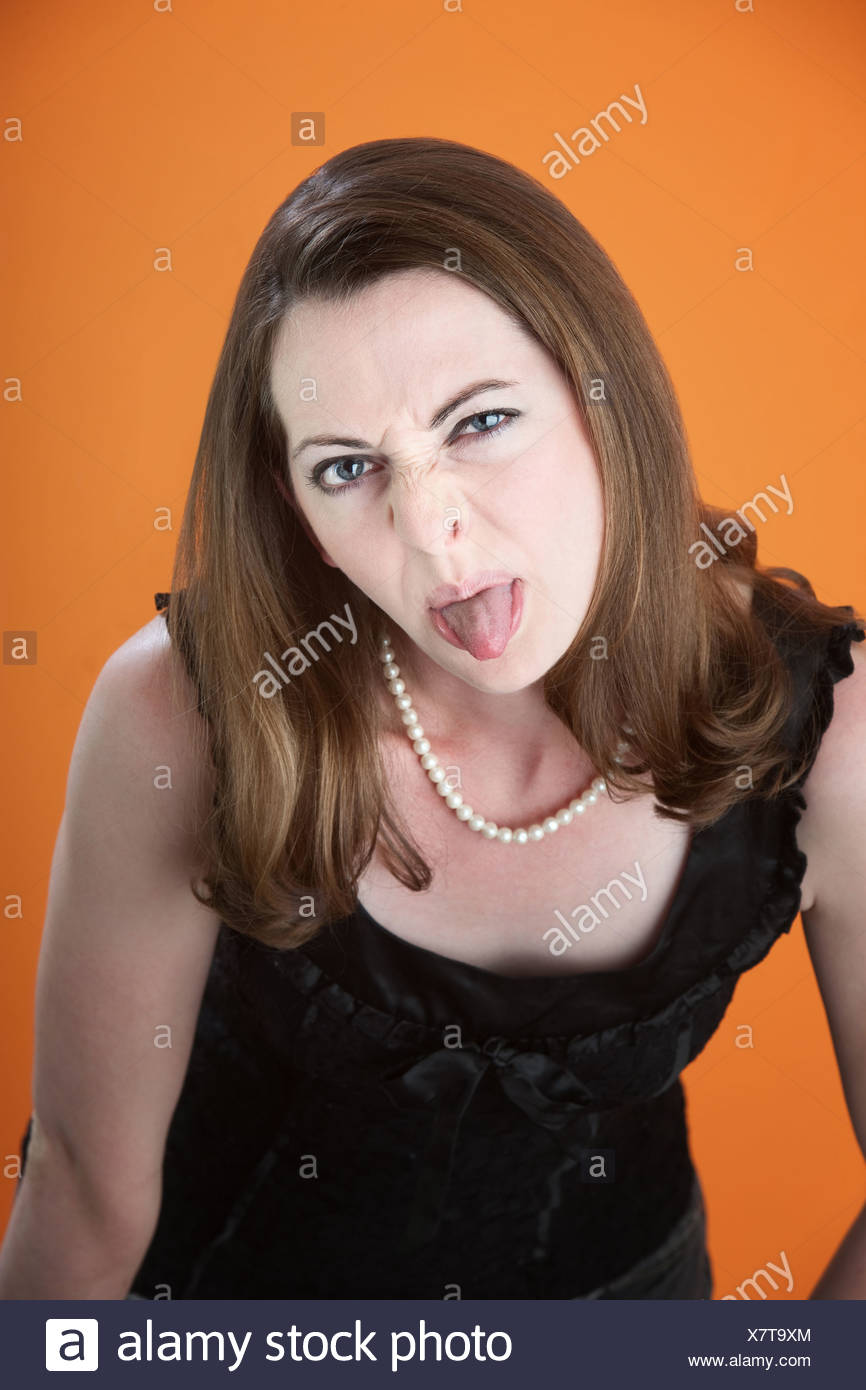Spit Stock De amp; Alamy Imágenes Tongue Fotos rqwPxCr
