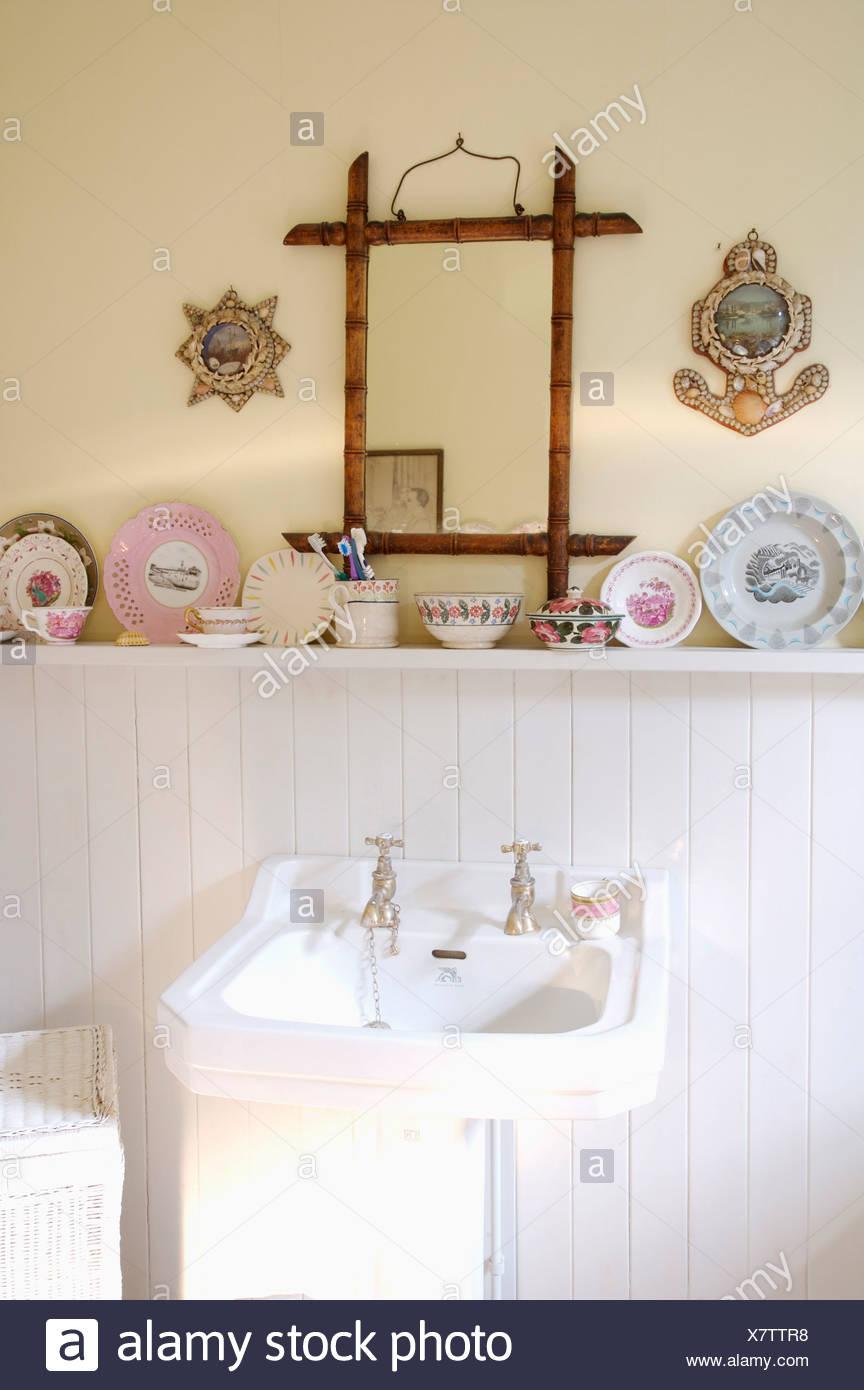 Contemporáneo Blanco Espejo Enmarcado Reino Unido Fotos - Ideas ...