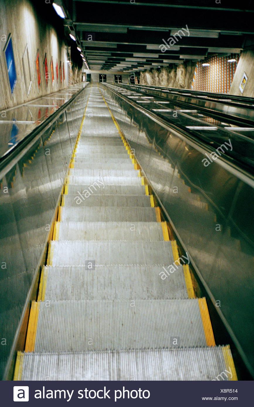 Un ascensor sube Imagen De Stock