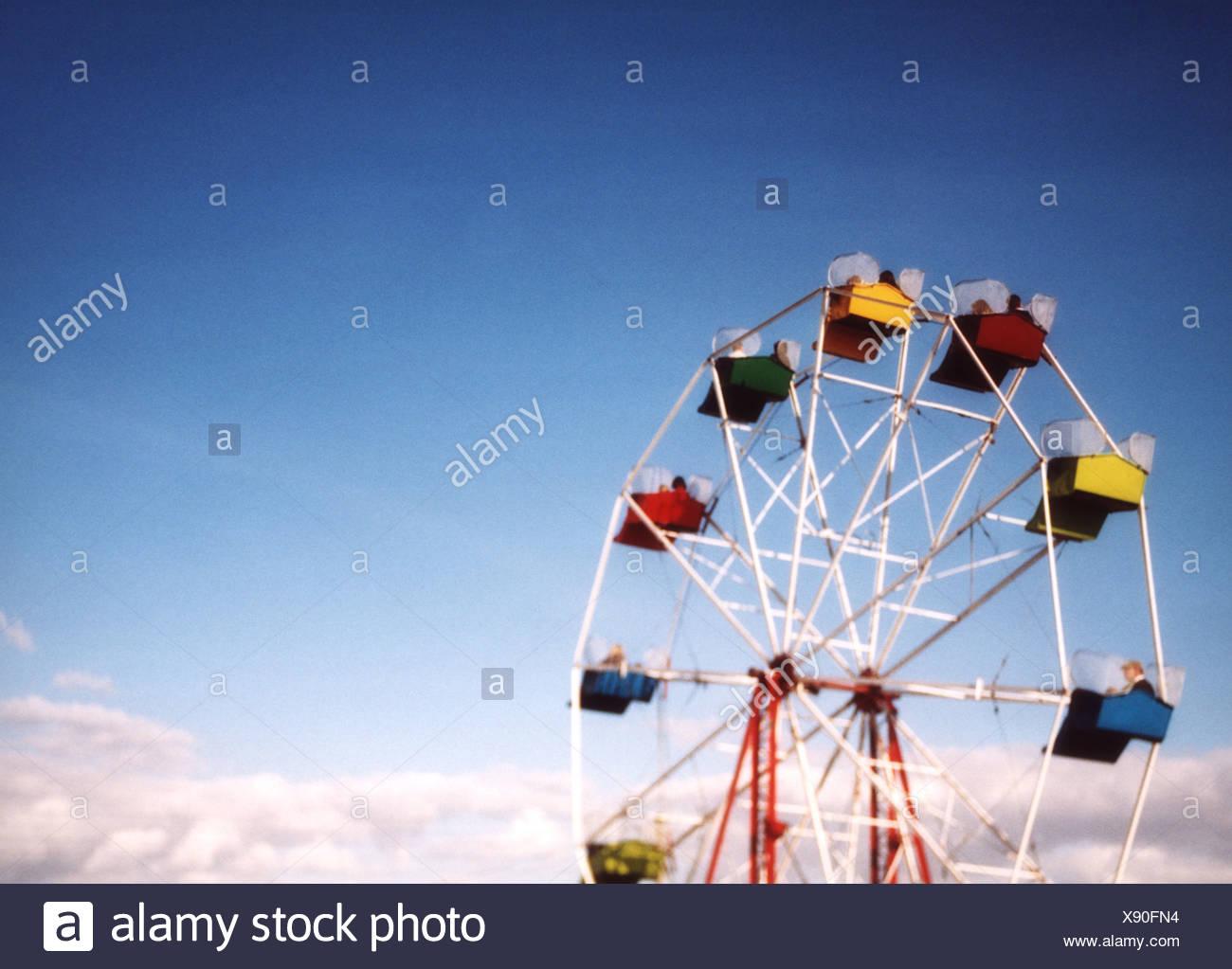 rueda grande Imagen De Stock