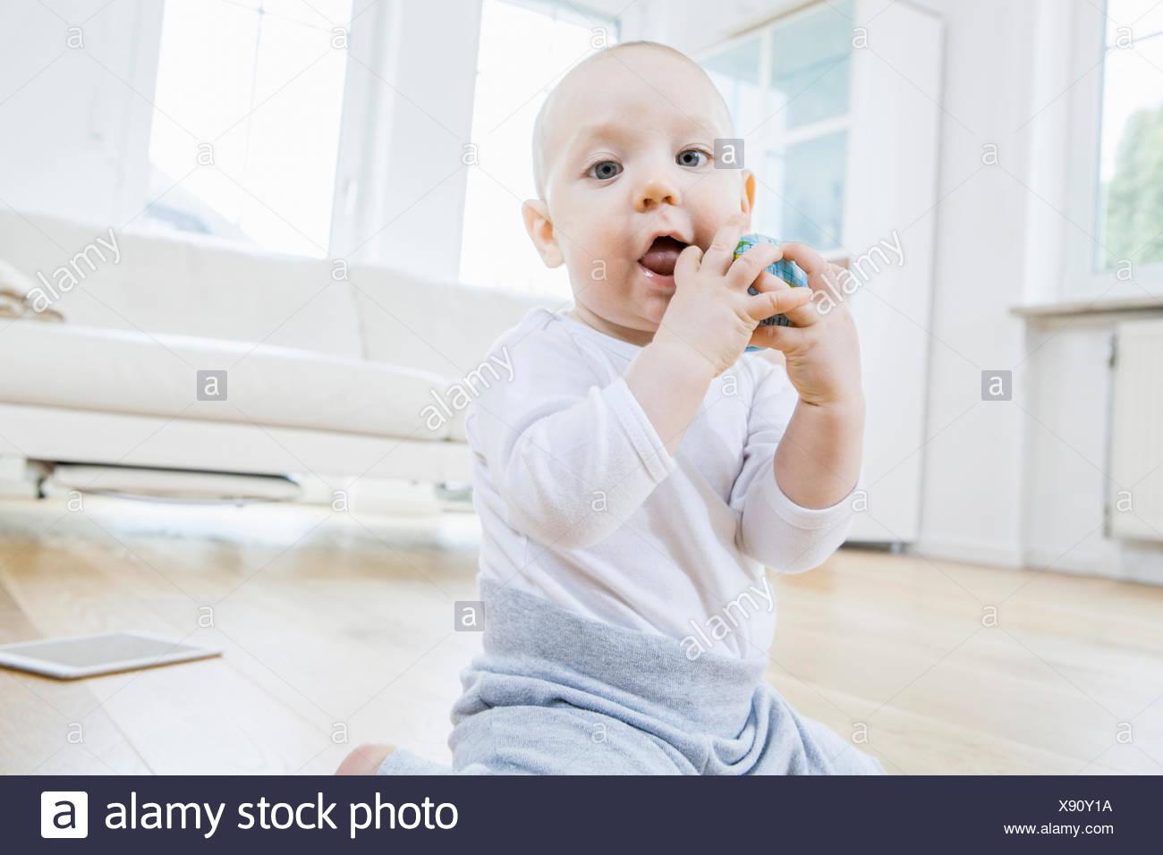 Retrato de Baby Boy Imagen De Stock