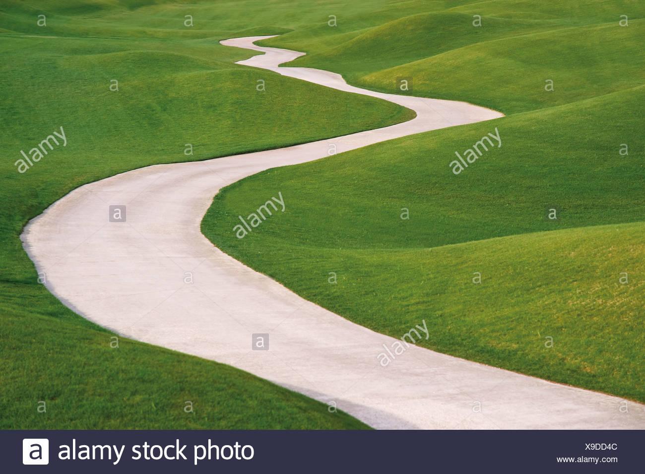 Turquía, Antalya, Vista de Golf Estate LinksLykia Imagen De Stock