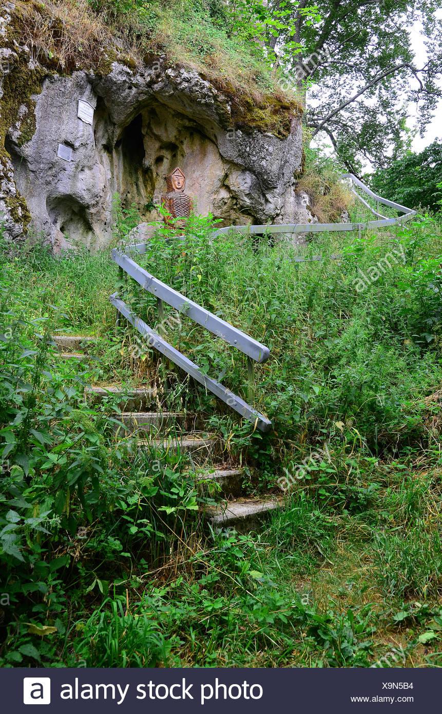Ruinas; suabia; Alemania; Foto de stock
