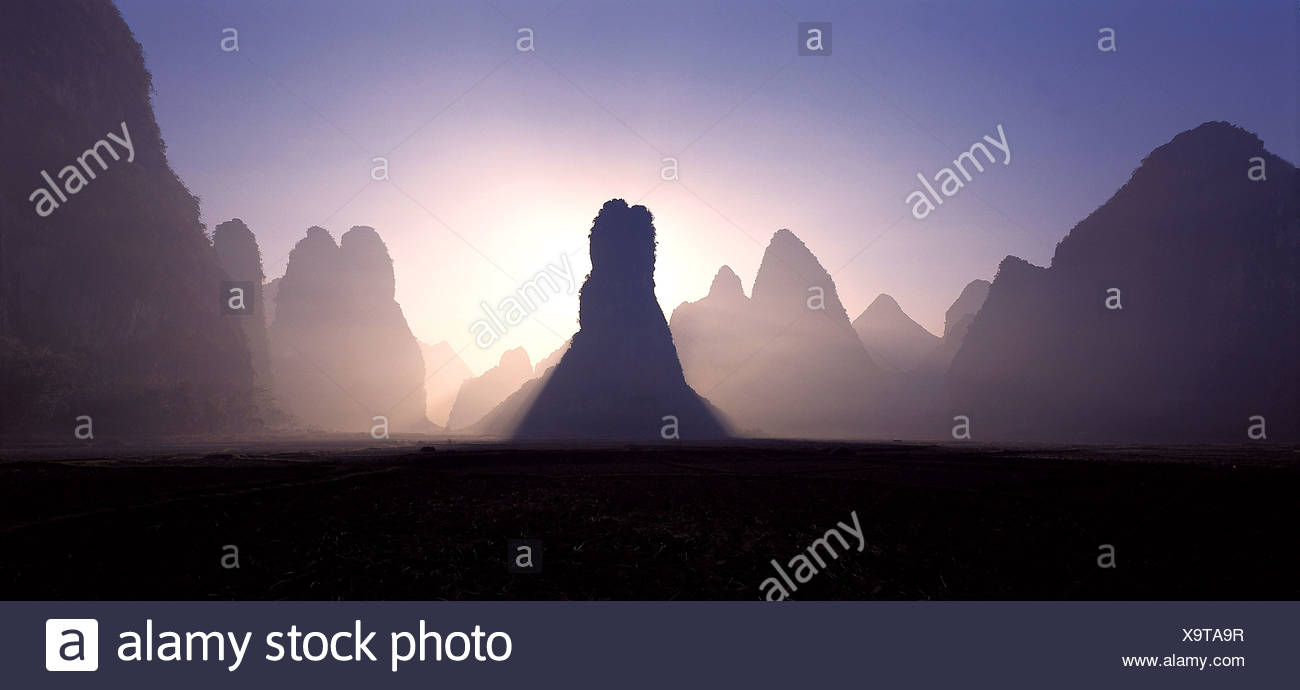 Yangsu Guilin China Imagen De Stock