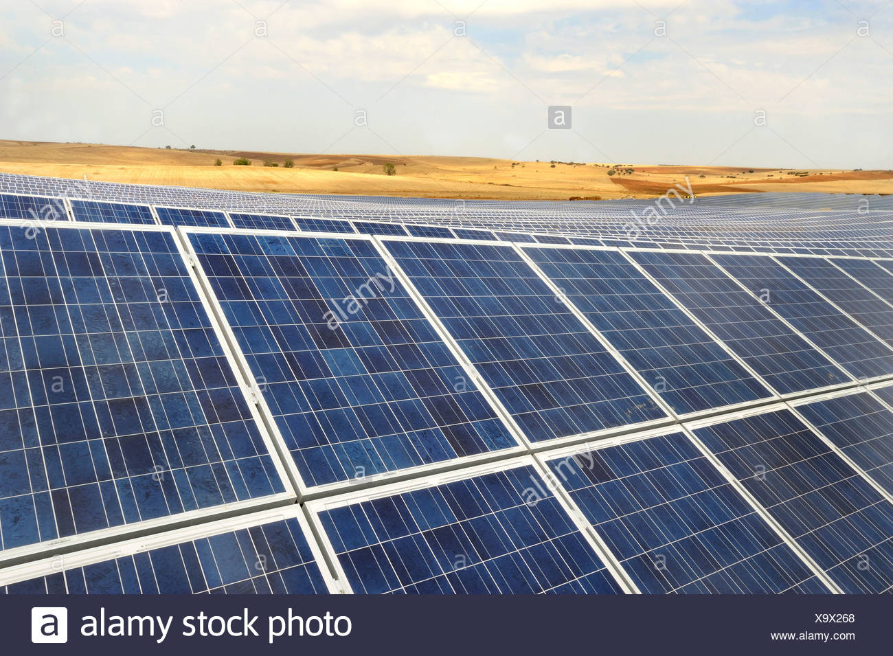Panel solar Imagen De Stock