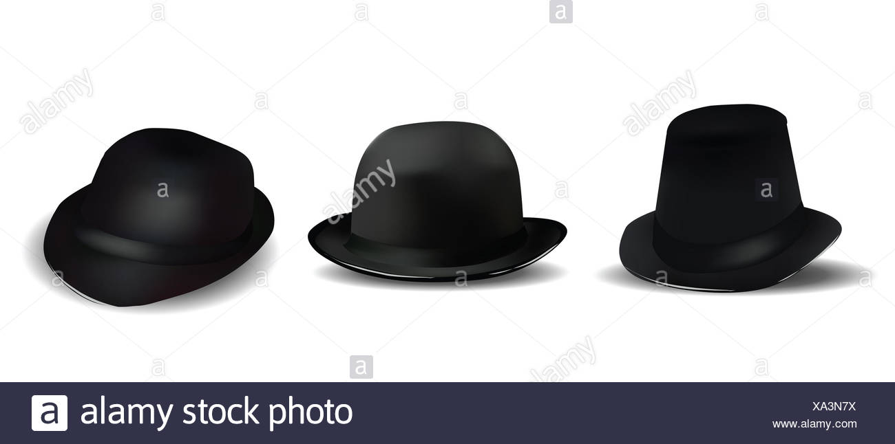 Fedora Hats For Men Imágenes De Stock   Fedora Hats For Men Fotos De ... 748e348c7a7