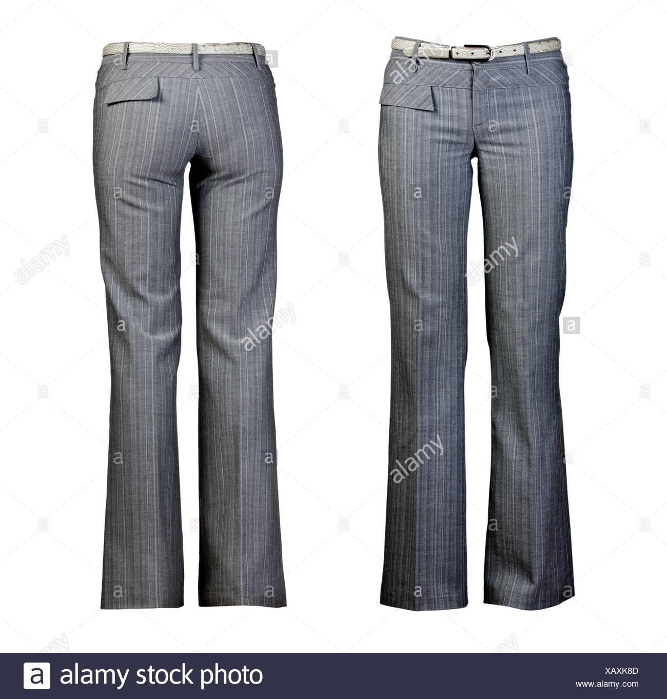 Mujer Mujer Aislado Moda Mujer Moderno Modernidad Elegancia Pantalones Fotografia De Stock Alamy