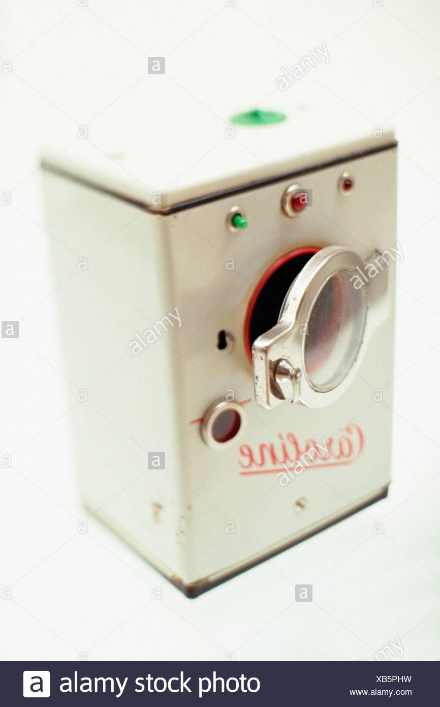 Miniatura de una vendimia lavadora Imagen De Stock