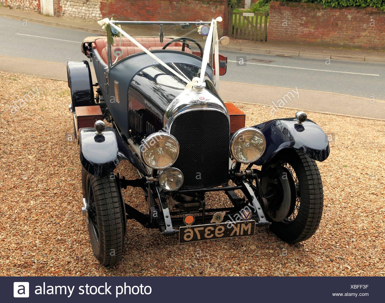 Boda Vintage automóviles automóviles automóviles motors cars UK Imagen De Stock