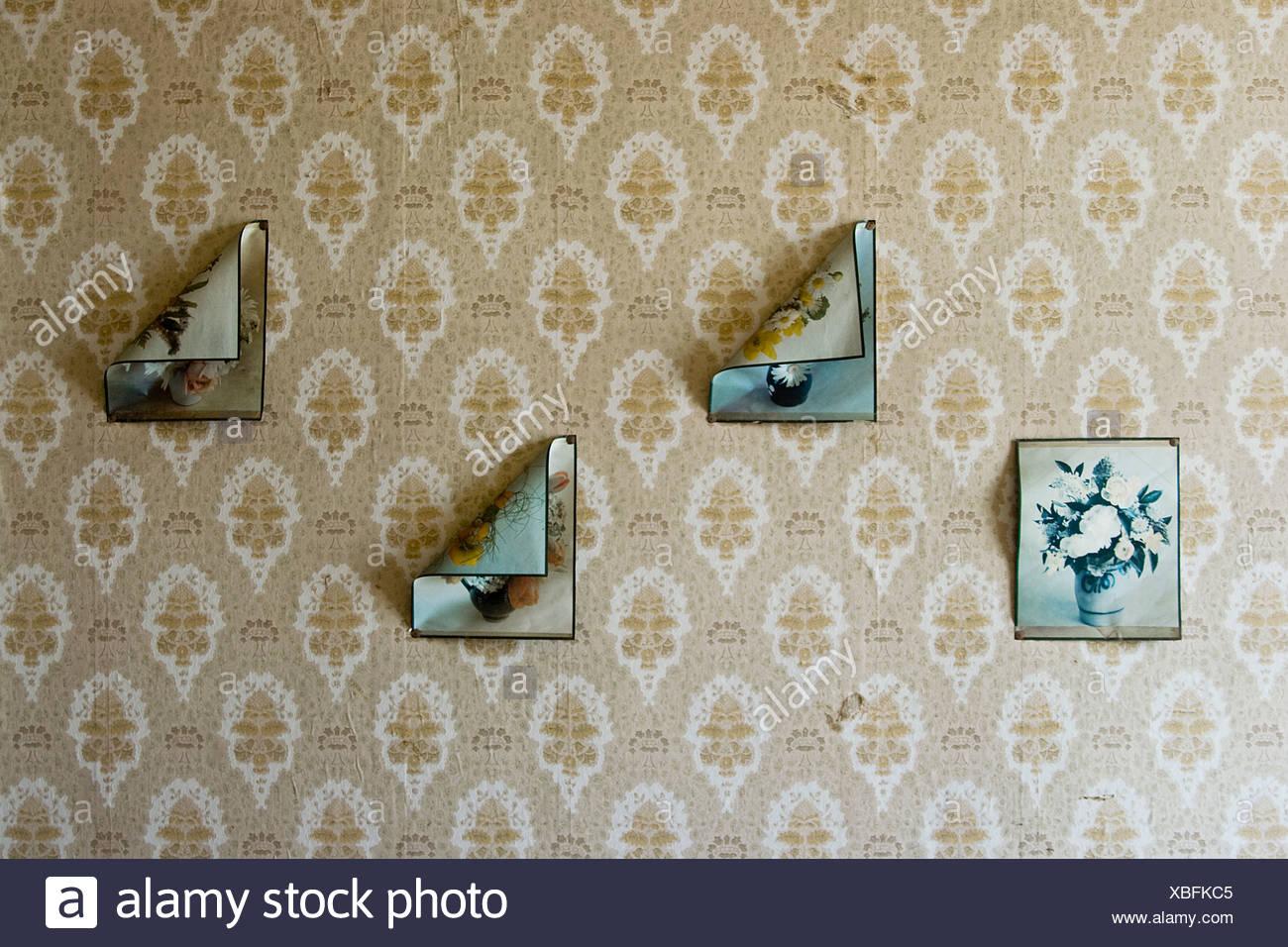 Retro,tapiz,dejando Imagen De Stock