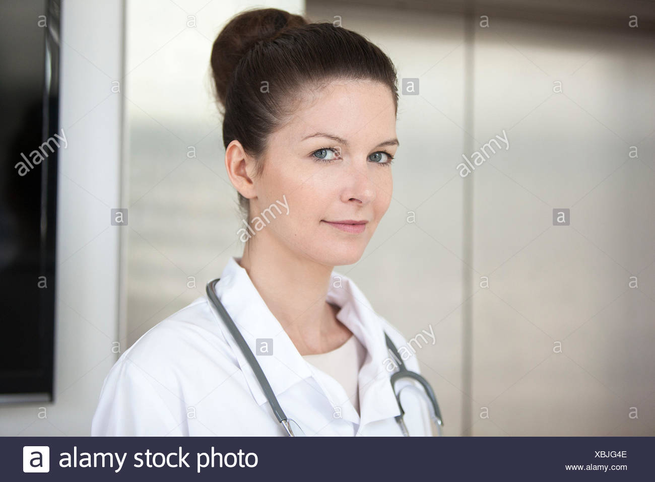 Doctor, Retrato Imagen De Stock