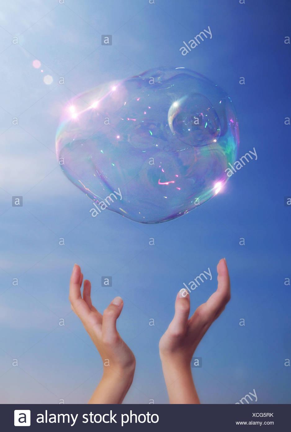 burbuja Imagen De Stock