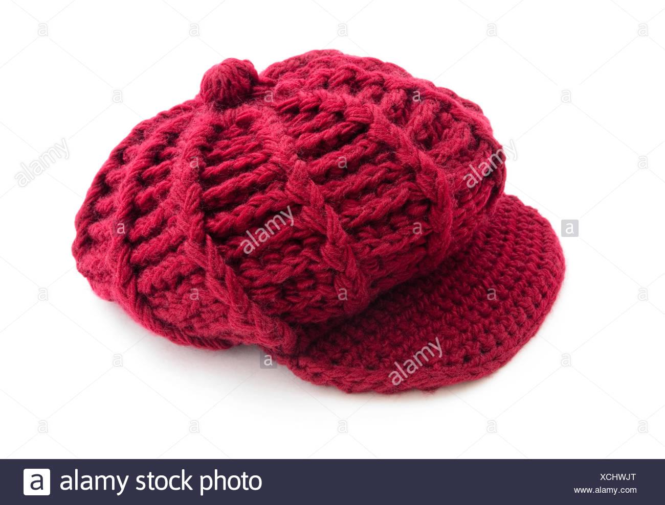 62006f44943e4 Woven Red Cap Imágenes De Stock   Woven Red Cap Fotos De Stock - Alamy