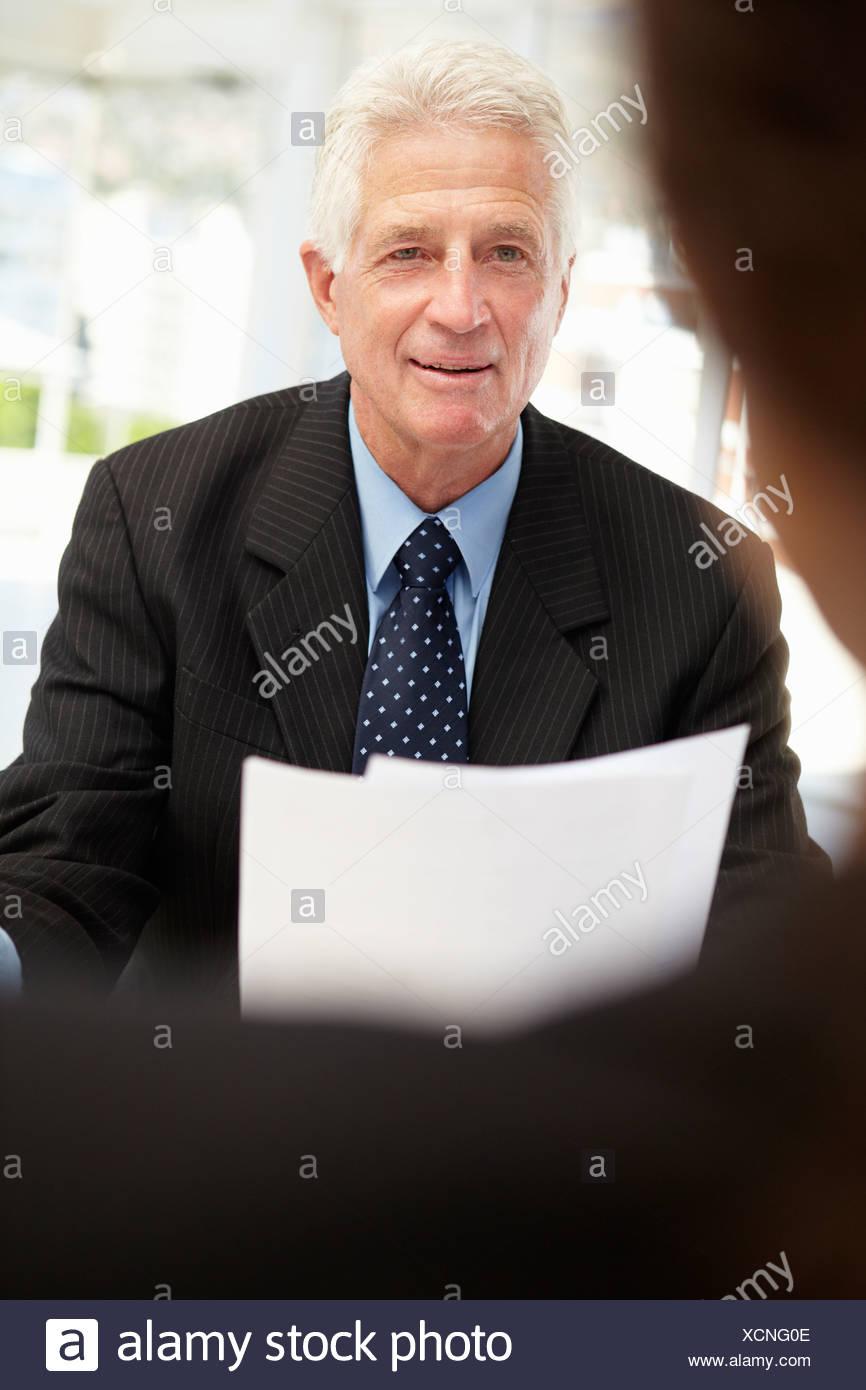Entrevista de trabajo Imagen De Stock