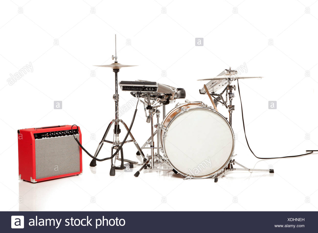 Kit de batería, Foto de estudio Imagen De Stock