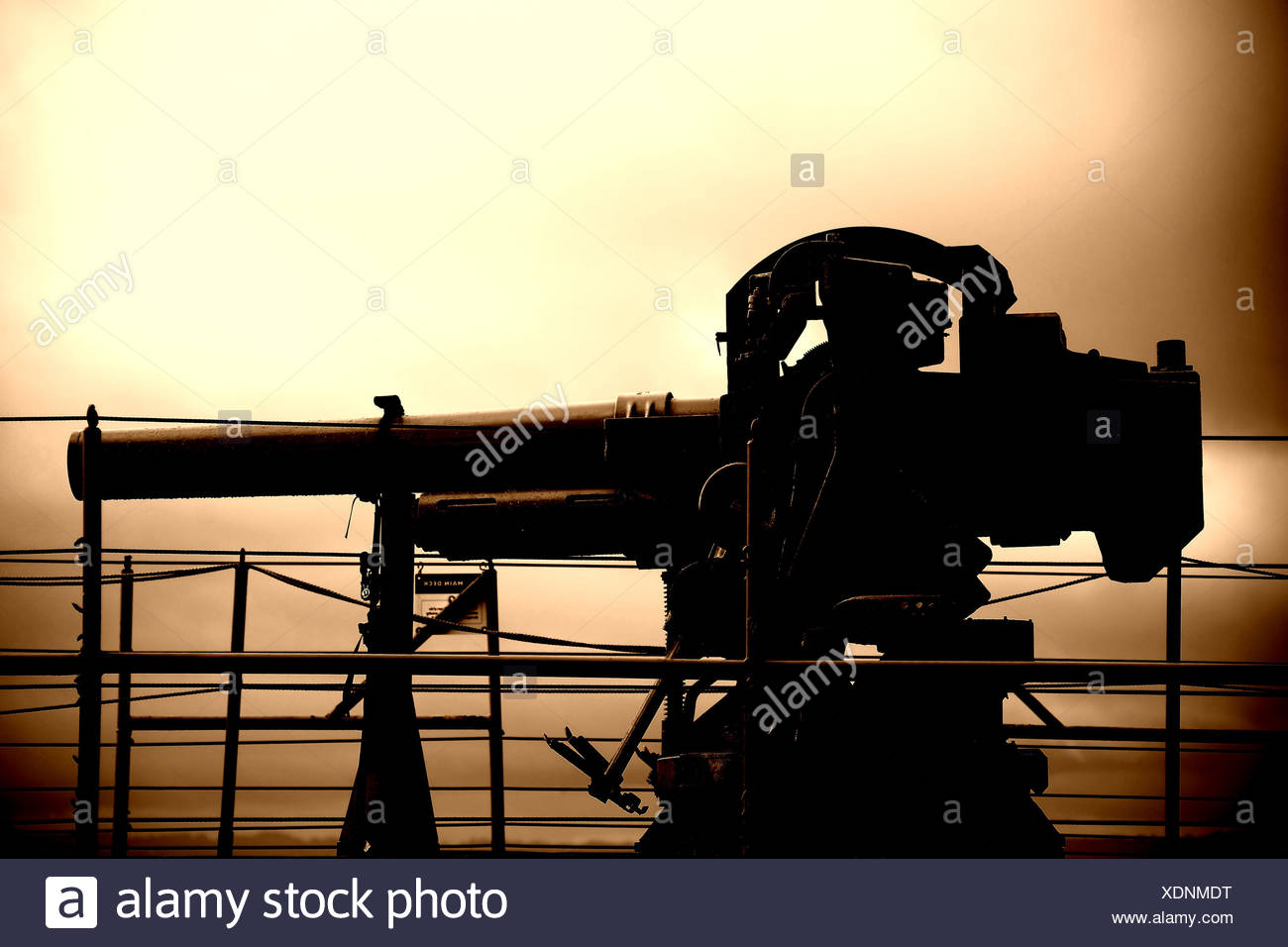 Pistola trasera Foto de stock