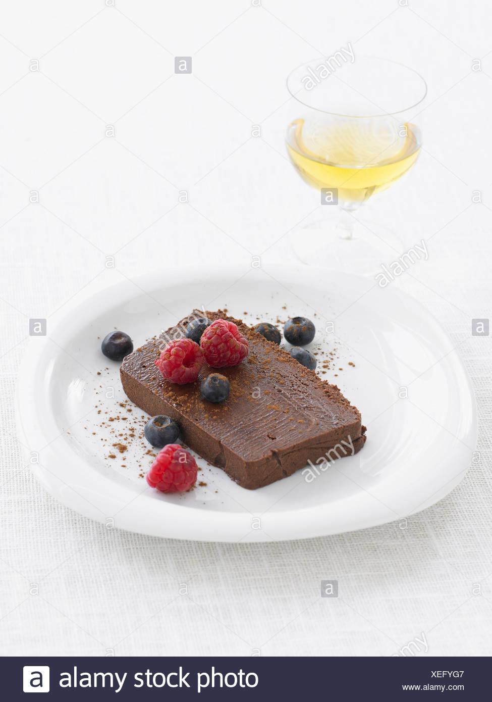 Marquise de chocolate Imagen De Stock