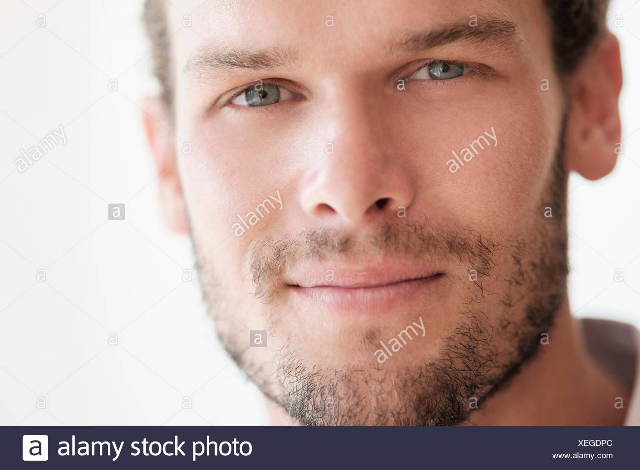 Retrato de un hombre adulto medio Imagen De Stock