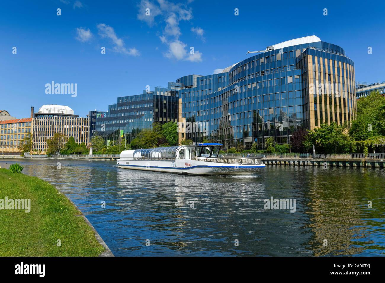 Buerozentrum, Kaiserin-Augusta-Allee, Moabit, Mitte, Berlin, Deutschland Banque D'Images