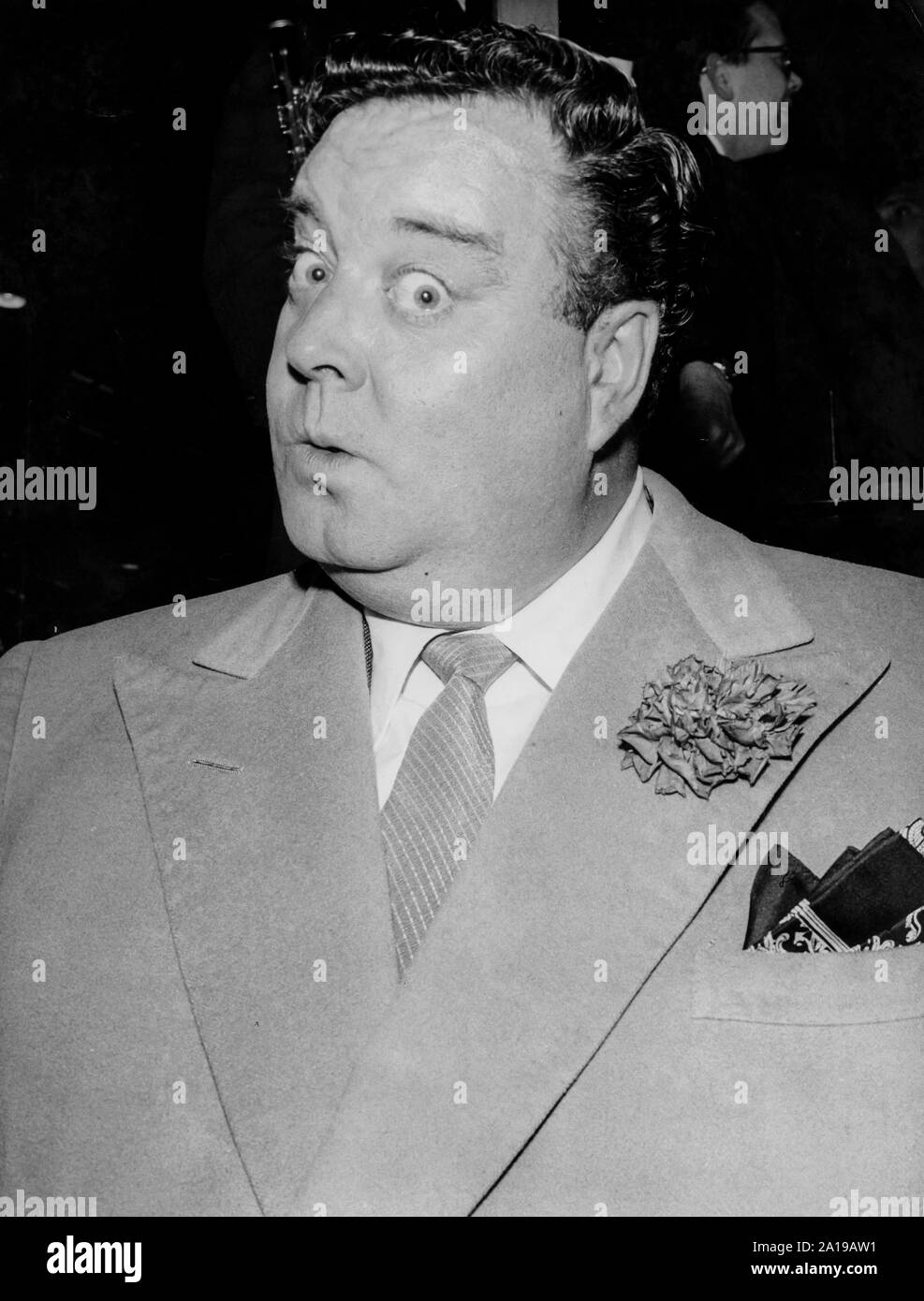 Jackie Gleason, 1961 Banque D'Images