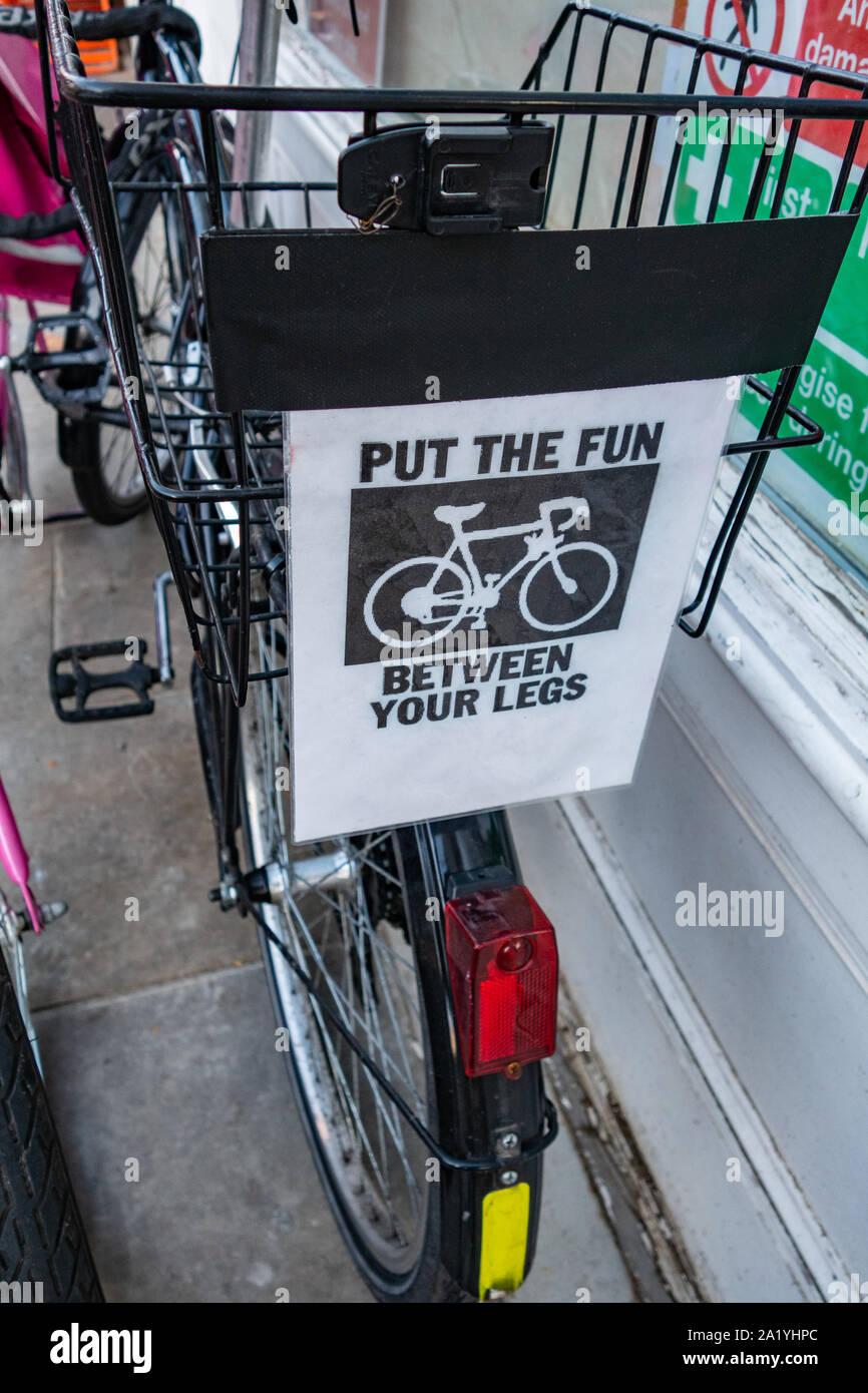 Vélo amusant panneau routier Australie panneau routier Nouveauté Fun Shop Porte Signe