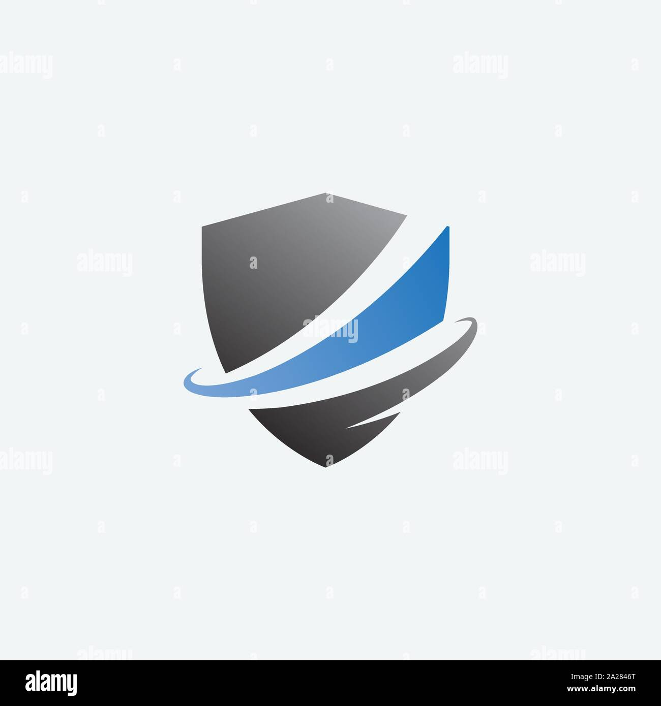 Icône de bouclier bouclier, illustration design logo design, logo, modèle de sécurité protéger l'icône logo Illustration de Vecteur
