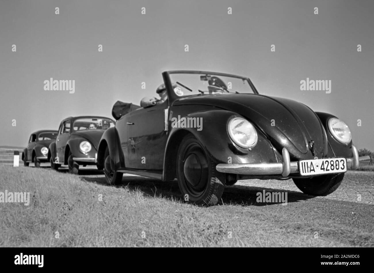 Volkswagen Beetle Voiture Modèle 1:43 taille noir mat CARARAMA Classique VW années 1970 R0