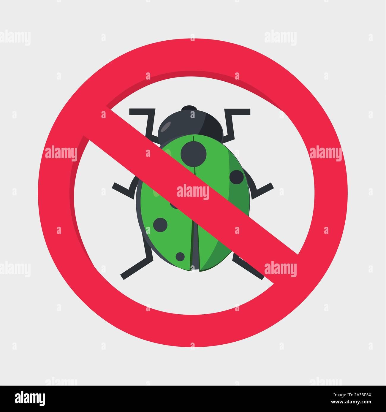 Symbole de sécurité antivirus vector illustration Illustration de Vecteur