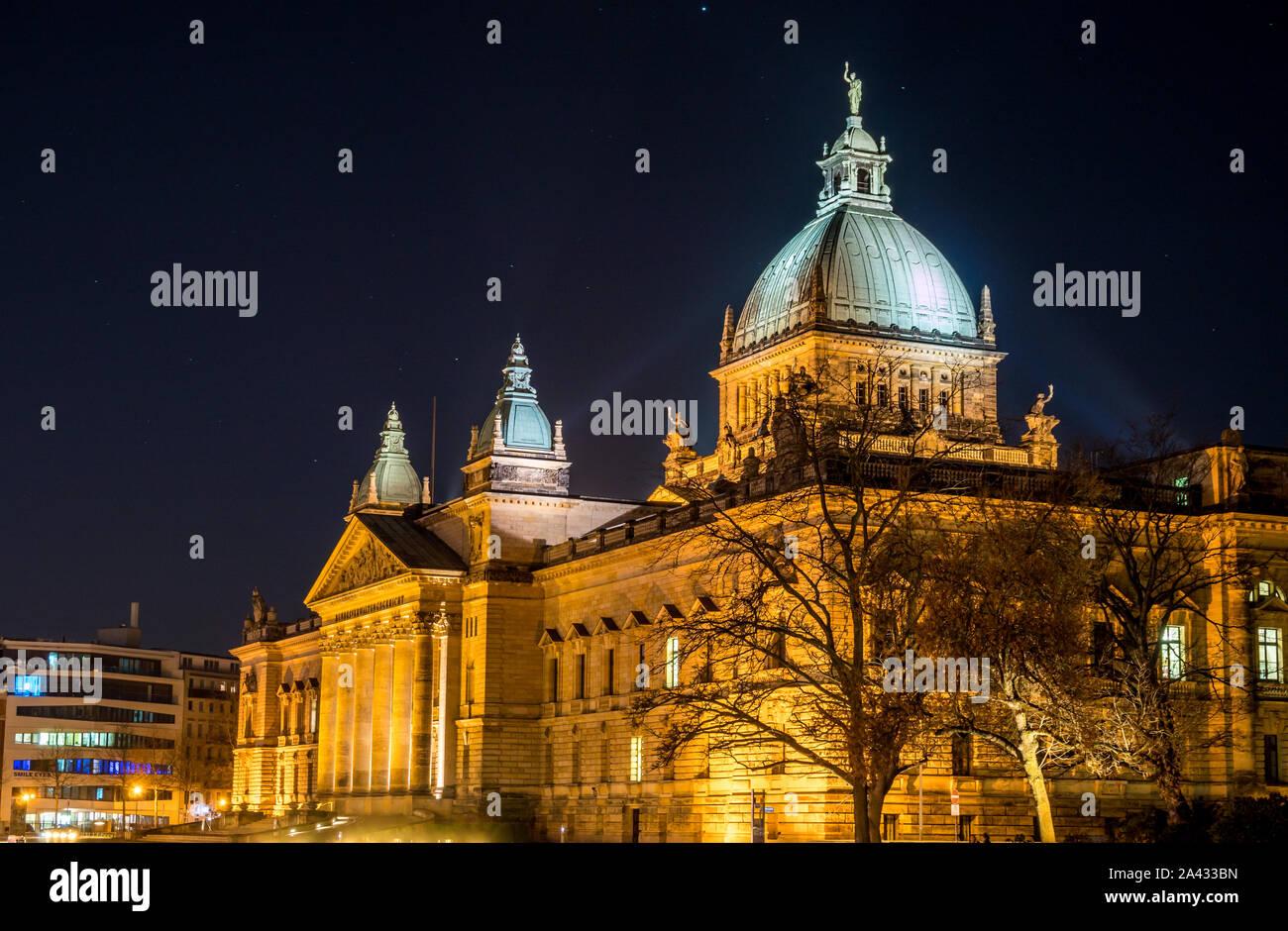 Le Tribunal administratif fédéral de Leipzig Banque D'Images