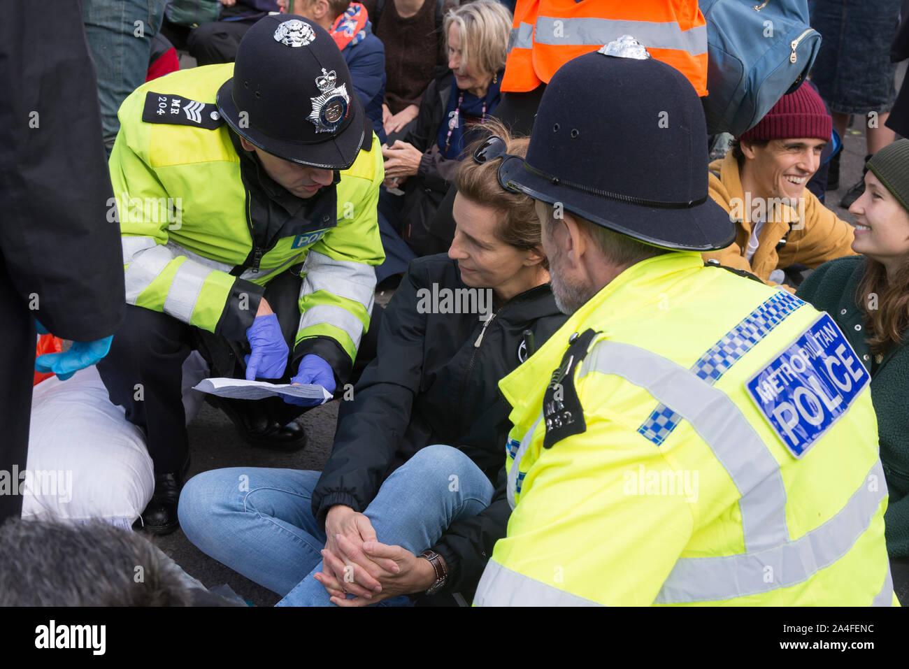 Rébellion d'extinction des protestations, Londres, Royaume-Uni, 2019 Banque D'Images