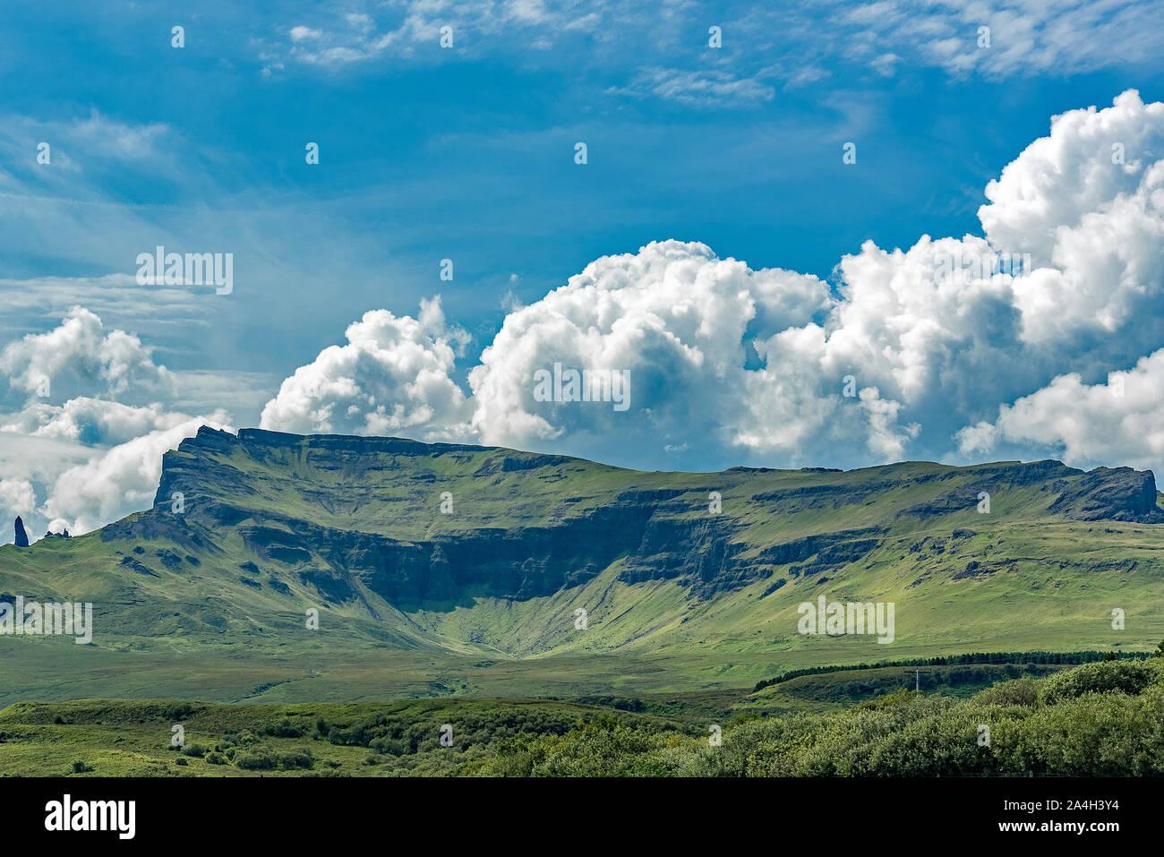 Trotternish ridge vues sur l'île de Skye Banque D'Images