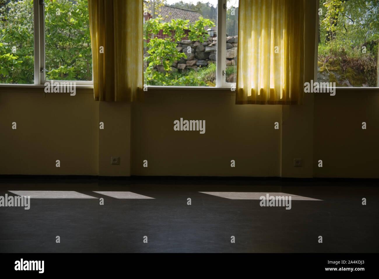 Une salle vide Banque D'Images
