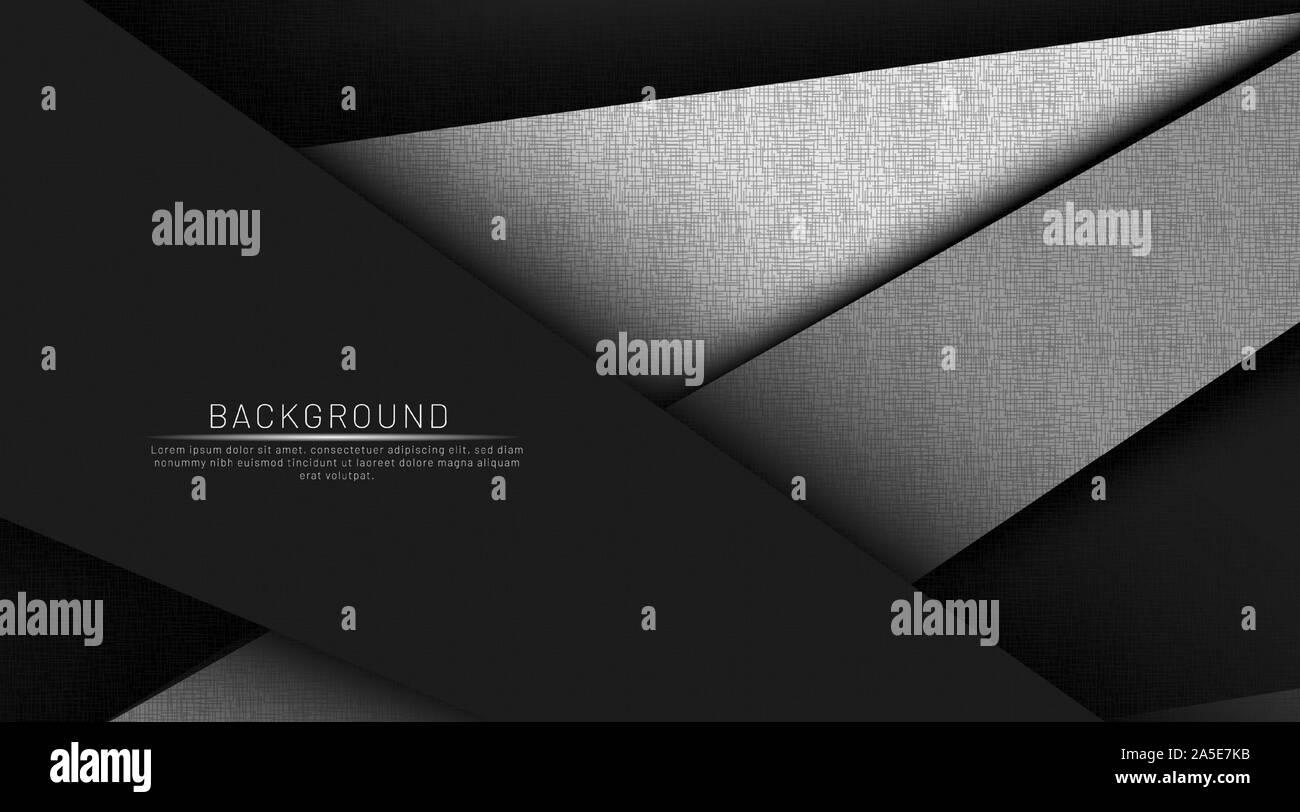 Résumé fond noir et sombre couleur chevauchement vector illustration eps 10 pour l'entreprise Illustration de Vecteur
