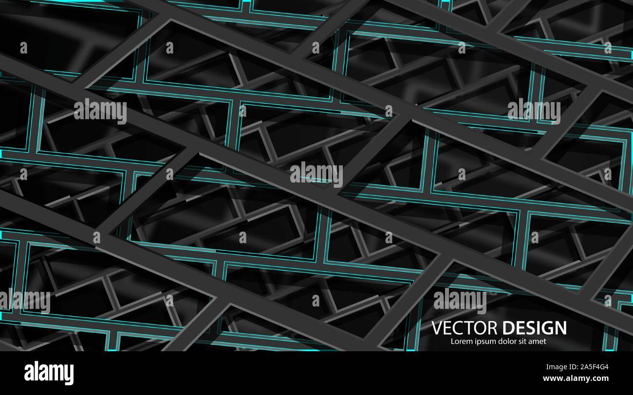 Abstract background vector architecture empilés en eps 10 Illustration de Vecteur
